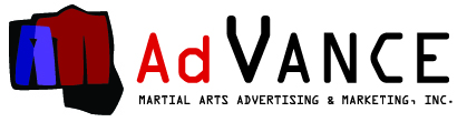 Advance Martial Arts Advertising and Marketing Logo